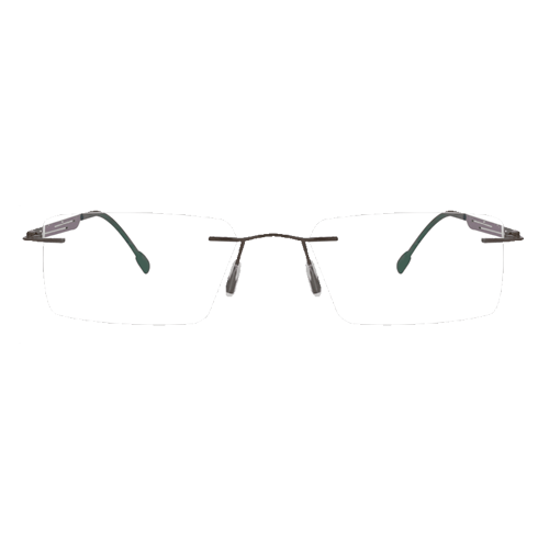 128267-C RIMLESS EYEGLASSES