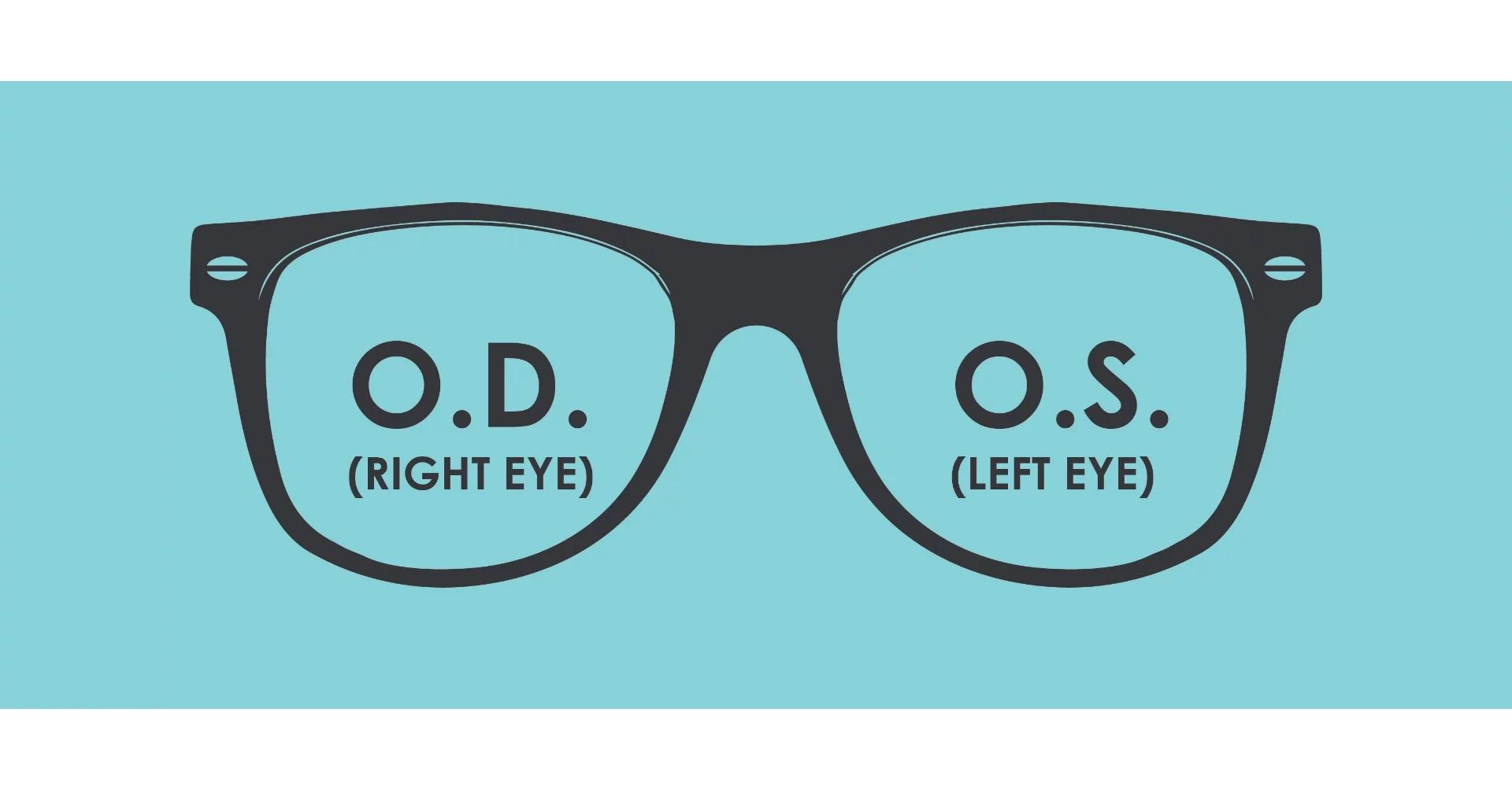 OD and OS
