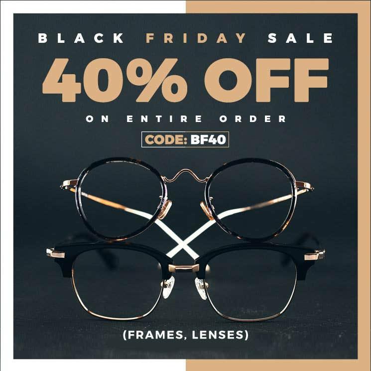 Get The Best Glasses on Black Friday Sale Online
