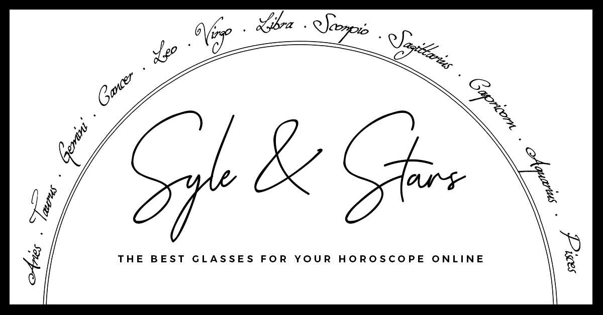 Styles & Stars: The Best Glasses For Your Horoscope Online