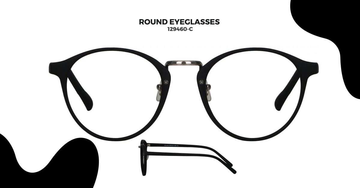 129460-C Round Glasses