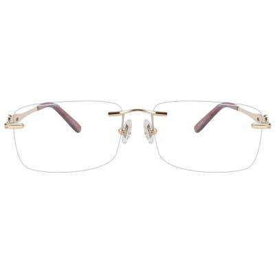 Rimless Eyeglasses 123861-c