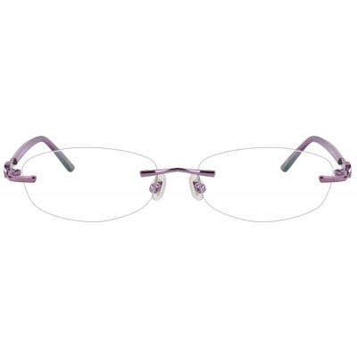 RImless Eyeglasses 123906-c