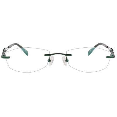 Rimless Eyeglasses 123947-c
