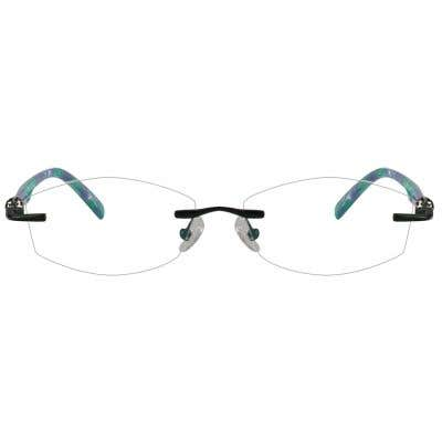 Rimless Eyeglasses 123968-c