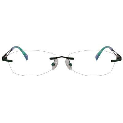 Rimless Eyeglasses 123975-c