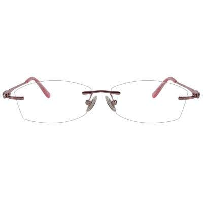 Rimless Eyeglasses 123989-c