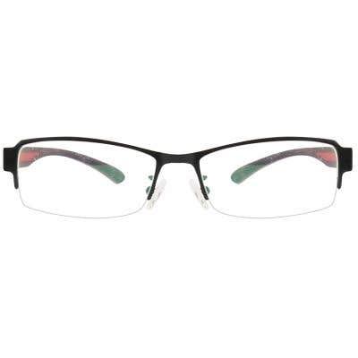 G4U GT9030 Rectangle Eyeglasses 124978-c