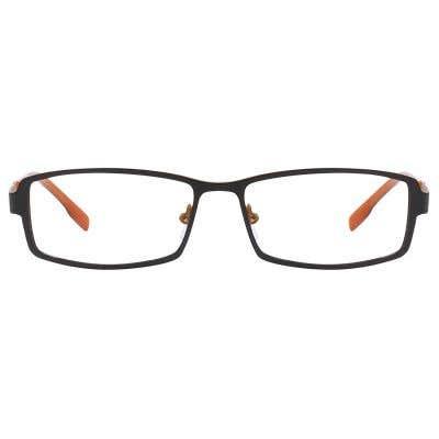 G4U 3033 Rectangle Eyeglasses 125332-c