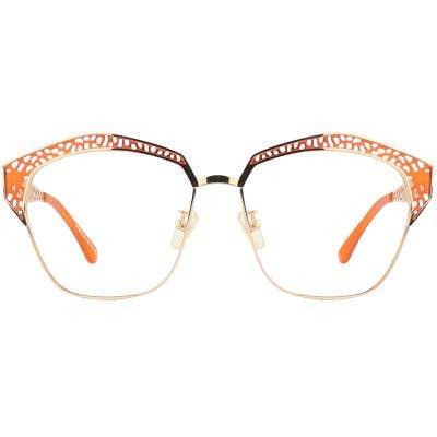 G4U SP8615 Rectangle Eyeglasses 125352-c