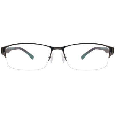 G4U QL9070 Rectangle Eyeglasses 125552-c
