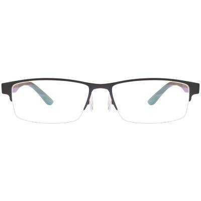 G4U GT9018 Rectangle Eyeglasses 125609-c
