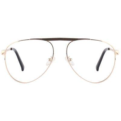 G4U SP8617-1 Pilot Eyeglasses 125824-c