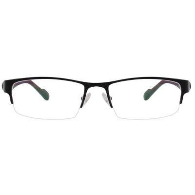 G4U GT002 Rectangle Eyeglasses 126129-c