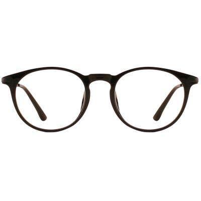 G4U 816013F Round Eyeglasses 126326-c
