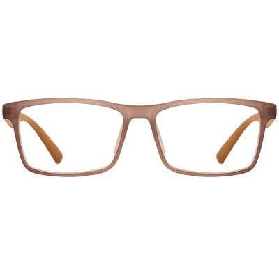 G4U TT588-1 Rectangle Eyeglasses 126478-c