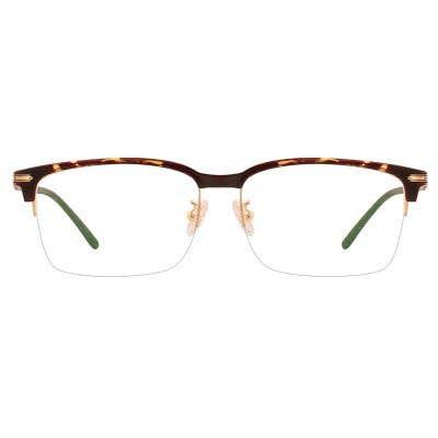Browline Eyeglasses 126589-c