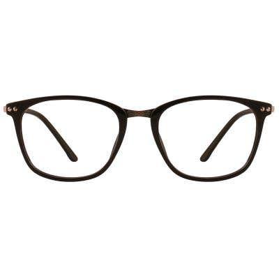 G4U N5023 Rectangle Eyeglasses 126646-c