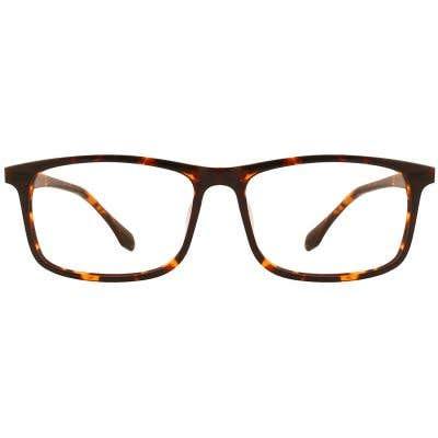G4U LV-85109 Rectangle Eyeglasses 126836-c