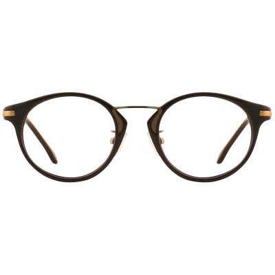 G4U LV-85077 Round Eyeglasses 126855-c