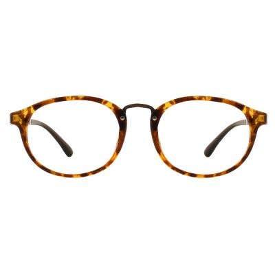 G4U 8124 Round Eyeglasses 127041-c