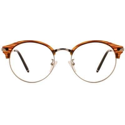 G4U-6 Browline Eyeglasses 127050-c