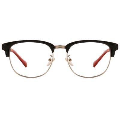 G4U T6118-1 Browline Eyeglasses 127079-c