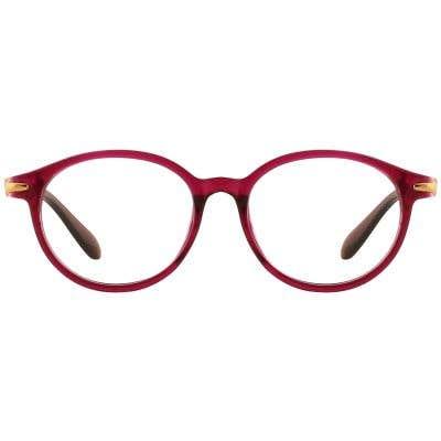 G4U 9217 Round Eyeglasses 127106-c