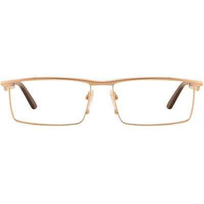 G4U R55858 Rectangle Eyeglasses 127251-c
