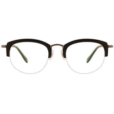 G4U 12885 Rectangle Eyeglasses 127405-c