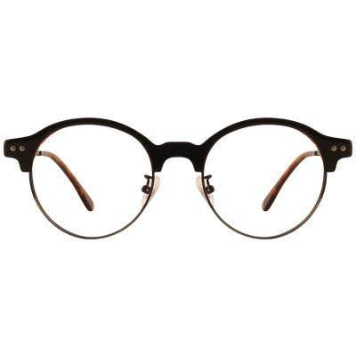 G4U 15011 Browline Eyeglasses 127415-c
