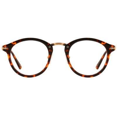 G4U 12949 Round Eyeglasses 127438-c