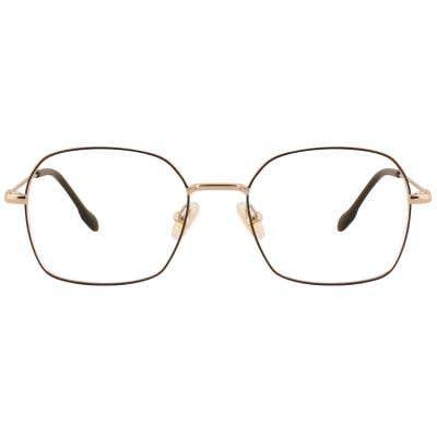 Hexagon Eyeglasses 127713-c