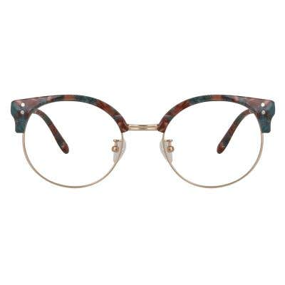Browline Eyeglasses 127877-c