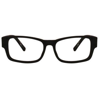 Wood Rectangle Eyeglasses 128894-c