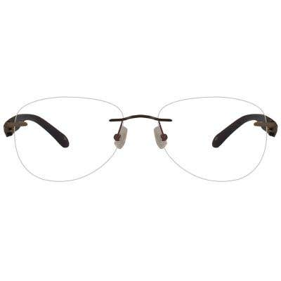 California Rimless Eyeglasses