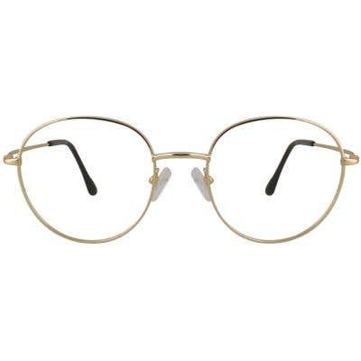 Round Eyeglasses 129266-c