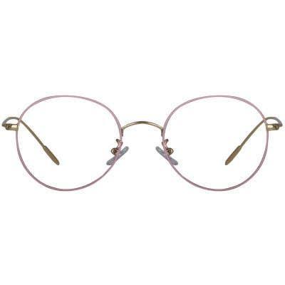 Round Eyeglasses 129553-c