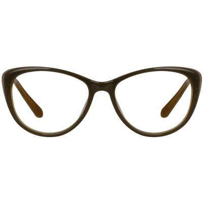 Cat Eye Eyeglasses 130088-c