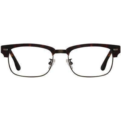 Wood Browline Eyeglasses 130364-c
