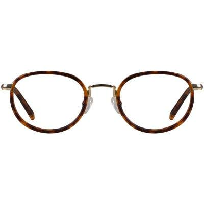 Oval Eyeglasses 130425-c