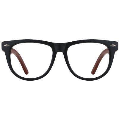 Wood Eyeglasses 130966-c