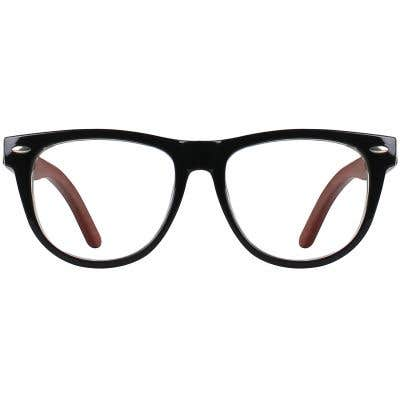 Wood Eyeglasses 130969-c