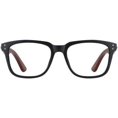 Wood Eyeglasses 130986-c