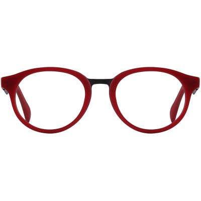 Oval Eyeglasses 131036-c