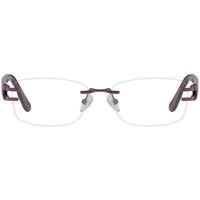Rimless Eyeglasses 131401-c