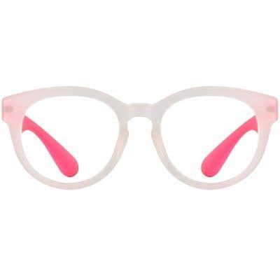 Round Eyeglasses 132291-c