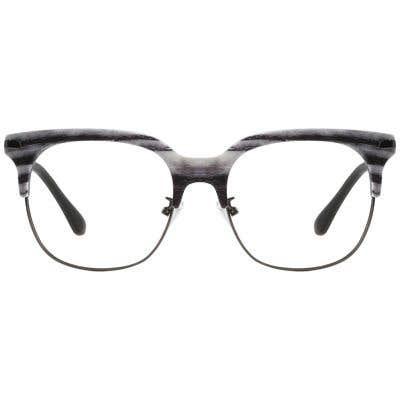 Browline Eyeglasses 132581-c