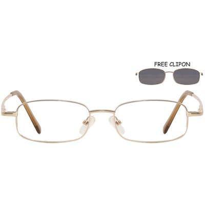 Clip-On Eyeglasses 132609-c