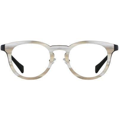 Wood Eyeglasses 133931-c